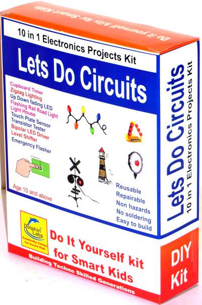 Dolphin labs diy kit 5 in 1 led based projects img solutioingenieria Images
