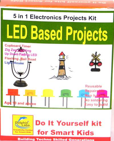 Dolphin labs diy kit 5 in 1 led based projects solutioingenieria Choice Image